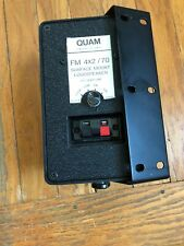 QUAM FM 4x2/70/W SURFACE MOUNT Wired LOUDSPEAKERS 70.7 Volt In/Outdoor