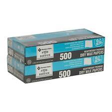 "Member's Mark Wax Paper Sheets 12"" X 10.75"" 500 ct 2pk. (Total 1000 ct.)"