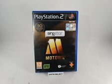 SINGSTAR MOTOWN SONY PS2 PLAYSTATION PAL EU EUR ITA ITALIANO ORIGINALE COMPLETO