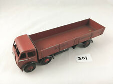 RARE VINTAGE DINKY TOYS # 501 FODEN DIESEL 8-WHEEL WAGON CHOCOLATE BROWN 1947-52