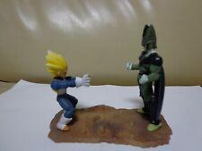 Dragon Ball Z Figure Vegeta vs Cell Dragon Capsule HG Gashapon DBZ