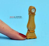 "1:48 1/4"" quarter scale grandfather clock Top quality Pine dollhouse miniature"