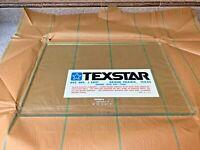 "TEXSTAR marine - aircraft observation window glass 20""x14 1/8"" 16.9 mm thick"
