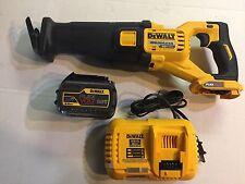 "Dewalt 60 volt max Lithium Brushless Flex volt Dcs388 4 1/2-6"" Sawzall kit"