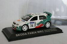 Ixo Presse 1/43 - Skoda Fabia WRC Tour de Corse 2003