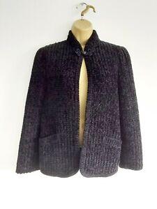 Vintage St Michael Black Cardigan Size 12