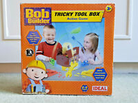 BOB THE BUILDER Tricky Tool Box Action Game Instructions EXCELLENT CONDITION