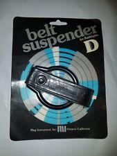 Mag instrument  Belt Holder Plain Leather for D cell Flashlight BELT SUSPENDER