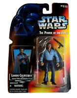 STAR WARS THE POWER OF THE FORCE LANDO CALRISSIAN FIGURE-KENNER-1995-COLLECTOR