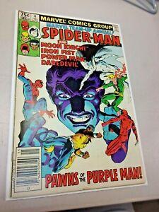 Marvel Team-Up Annual 4 VF+ Frank Miller Daredevil Moon Knight Spider-man 1981
