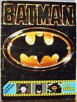 BATMAN álbum de cromos completo de la película de Tim Burton, ASTON, 1989.