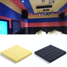 30 * 30CM Acoustic Wall Panels PVC Sound-Proof Deadening Foam Stripes Pads Tiles