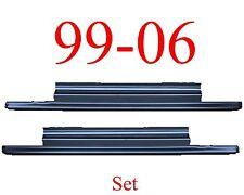 99 06 Slip-On Rocker Panel SET, 2Dr Regular Cab, Chevy GMC Truck, 2.0MM Thick