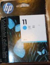 Cartouche d'encre HP 11 CYAN - C4836A -Neuf sous blister - SEP 2014