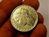 Italy 100 lira 1963 year collectible coin money for collection #112