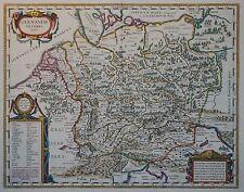 Germaniae veteris typus - Germanien - Deutschland - Blaeu nach Ortelius - 1644