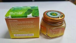 20G GOLDEN STAR Balm balsam Ointment Cao Sao Vang Vietnam Aromatic