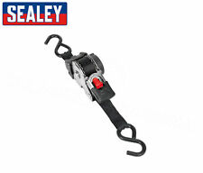 Sealey ATD25301 Auto Retractable Ratchet Tie Down Strap 25mm X 3 Metre