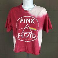 Pink Floyd Women's Crop Top T-shirt Size M Pink TF15