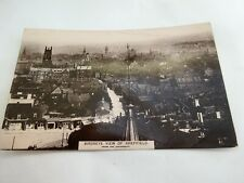 Sheffield Birdseye View from the University - Old Yorkshire Postcard