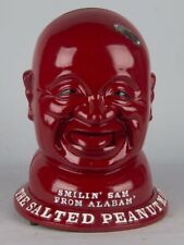 Smilin Sam From Alabama Coin Operated Peanut Vending Machine Gum Candy