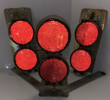 3- FORD REFLECTOR FLARE model A Stimsonite No.12A SAE A 60 VINTAGE road truck