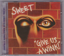 SWEET Give Us a Wink + off the record bonus BMG 2005
