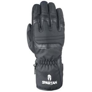 Oxford Spartan Waterproof Motorcycle Gloves Long Winter Thermal Scooter Black