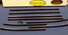 1968 - 1972 CHEVROLET NOVA 2 DOOR COUPE WINDOW FELT FUZZIES RUBBER SEAL KIT