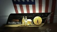 """Miller Beer Lighted Sign + Clock 