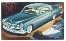 1955 CHRYSLER WINDSOR Deluxe Nassau - Original Issue Postcard