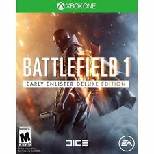 NEW Microsoft XBOX ONE Battlefield 1 Early Enlister Deluxe Edition Game Rated M