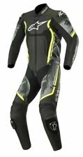 Alpinestars Motegi V2 Track day Black CAMO Leather 1PC one Piece Motorcycle Suit