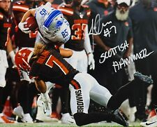 JAMIE GILLAN CLEVELAND BROWNS SIGNED 8x10 (OSG COA) (8-2)