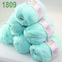Sale lot 6 Skeins x50g Cashmere Silk Wool Children Hand Knitting Crochet Yarn 09