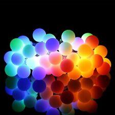 LED RGB GLOBE BALL STRING LIGHTS 100-240V,8 MODES