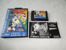Disney Collection quackshot & Castle of Illusion Mega Drive juego cib