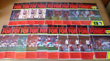 Nottingham Forest Home Team Written - on Football Programmes