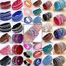Fashion Leather Wrap Wristband Cuff Punk Crystal Rhinestone Bracelet Bangle NEU