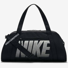 ba26f784ca NIKE NEW WOMEN S GYM CLUB TRAINING DUFFLE BAG GYM BAG UNISEX BLACK NWT NICE