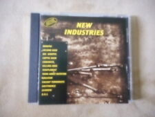 """VARIOUS ARTISTS """"NEW INDUSTRIES"""" CD 1995 DIE KRUPPS KREATOR COPTIC RAIN CUBANATE"""