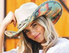 Bullhide MonteCarlo Jeopardy Palm Leaf Straw Western Rodeo Cowboy Hat