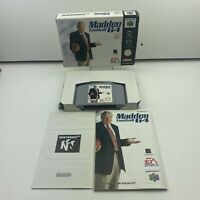 Madden Football 64 (PAL) N64 Nintendo 64 Complete With Manual Boxed