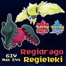 Shiny Regieleki Regidrago | 6IV Max EVs | Pokemon Sword Shield | Crown Tundra