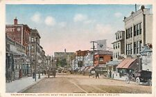 c.1920 Stores Tremont Ave. looking West from 3rd Ave. Bronx NY post card