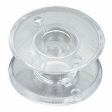 10pcs Transparent Plastic Bobbins for Toyota 9000 sewing machine #1450003-520