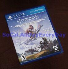 Horizon: Zero Dawn COMPLETE Edition w/All DLC + Frozen Wilds exp (PS4) BRAND NEW