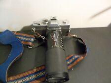 minolta srt 200 camera with kalimar 60-300mm lens