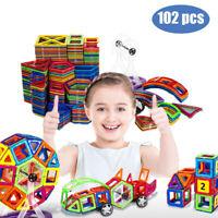 GeZo 102 pcs set/3D Magnetic building blocks for kids 3 4 5 6 7 8 years/Safe toy