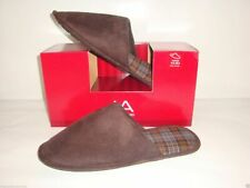 John Ashford Faux Suede Indoor/Outdoor Slippers ~ Size XL (11-12) ~ New In Box